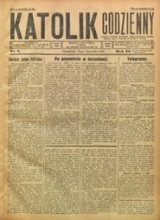 Katolik Codzienny, 1929, R. 32, Nr. 8