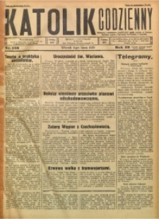 Katolik Codzienny, 1929, R. 32, Nr. 156