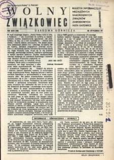 Wolny Związkowiec, 1981, nr 6