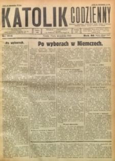 Katolik Codzienny, 1930, R. 33, Nr. 216