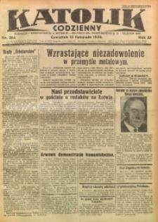 Katolik Codzienny, 1930, R. 33, Nr. 264