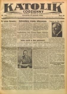 Katolik Codzienny, 1930, R. 33, Nr. 292