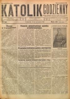 Katolik Codzienny, 1930, R. 33, Nr. 18