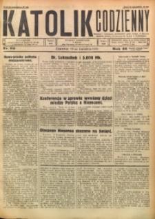 Katolik Codzienny, 1930, R. 33, Nr. 90