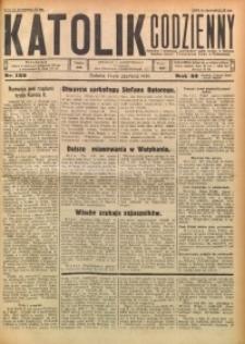 Katolik Codzienny, 1930, R. 33, Nr. 136