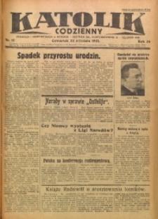 Katolik Codzienny, 1931, R. 34, Nr. 17