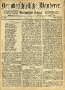 Der Oberschlesische Wanderer, 1897, Jg. 70, Nr. 202