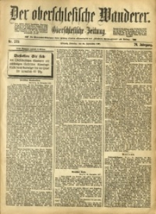 Der Oberschlesische Wanderer, 1897, Jg. 70, Nr. 223