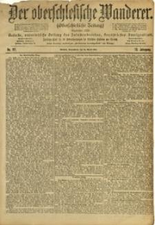 Der Oberschlesische Wanderer, 1900, Jg. 73, Nr. 92