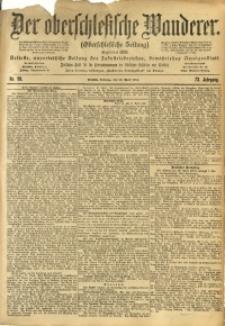 Der Oberschlesische Wanderer, 1900, Jg. 73, Nr. 99