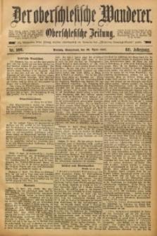 Der Oberschlesische Wanderer, 1887, Jg. 60, Nr. 100