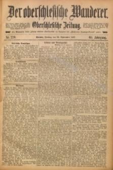 Der Oberschlesische Wanderer, 1887, Jg. 60, Nr. 220