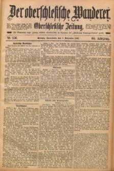 Der Oberschlesische Wanderer, 1887, Jg. 60, Nr. 256