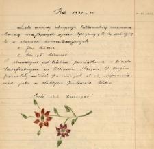 Kronika Szkoły Podstawowej w Świerczyńcu za okres 1955-1987
