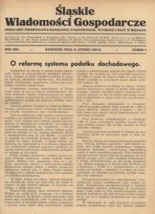 Śląskie Wiadomości Gospodarcze, 1936, R. 13, nr 3