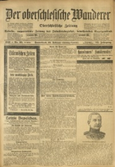 Der Oberschlesische Wanderer, 1912, Jg. 85, Nr. 33
