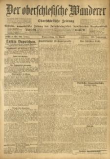 Der Oberschlesische Wanderer, 1912, Jg. 85, Nr. 82