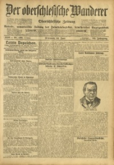 Der Oberschlesische Wanderer, 1912, Jg. 85, Nr. 132