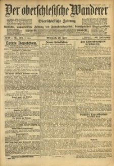 Der Oberschlesische Wanderer, 1912, Jg. 85, Nr. 138