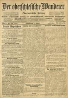 Der Oberschlesische Wanderer, 1912, Jg. 85, Nr. 174