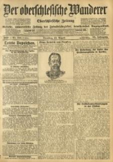 Der Oberschlesische Wanderer, 1912, Jg. 85, Nr. 184