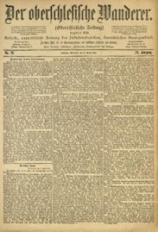 Der Oberschlesische Wanderer, 1901, Jg. 74, No. 79