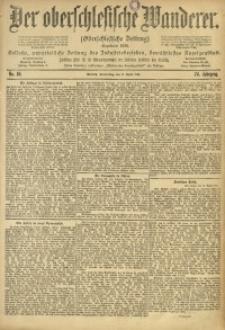 Der Oberschlesische Wanderer, 1901, Jg. 74, No. 84