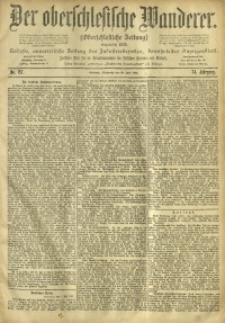 Der Oberschlesische Wanderer, 1901, Jg. 74, No. 157