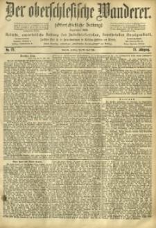 Der Oberschlesische Wanderer, 1901, Jg. 74, No. 171