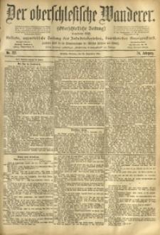 Der Oberschlesische Wanderer, 1901, Jg. 74, No. 221