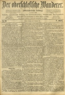 Der Oberschlesische Wanderer, 1901, Jg. 74, No. 256
