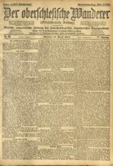 Der Oberschlesische Wanderer, 1904, Jg. 77, No. 88