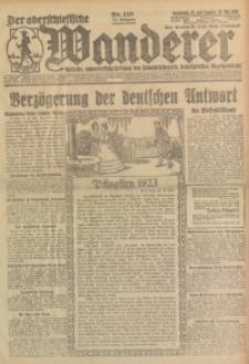 Der Oberschlesische Wanderer, 1923, Jg. 95, Nr. 115