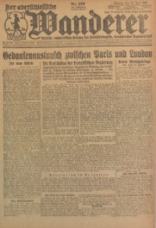 Der Oberschlesische Wanderer, 1923, Jg. 95, Nr. 132