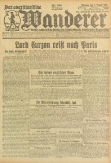 Der Oberschlesische Wanderer, 1923, Jg. 95, Nr. 180