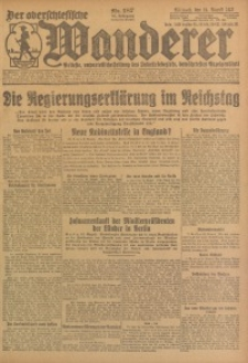 Der Oberschlesische Wanderer, 1923, Jg. 95, Nr. 187