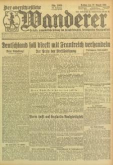Der Oberschlesische Wanderer, 1923, Jg. 95, Nr. 189