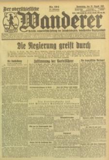 Der Oberschlesische Wanderer, 1923, Jg. 95, Nr. 194