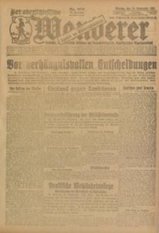 Der Oberschlesische Wanderer, 1923, Jg. 95, Nr. 268