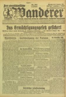 Der Oberschlesische Wanderer, 1923, Jg. 95, Nr. 281