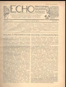 Echo Pracownika Śląskiego, 1935, R. 16, nr 2