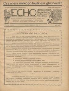 Echo Pracownika Śląskiego, 1935, R. 16, nr 8