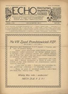 Echo Pracownika Śląskiego, 1936, R. 17, nr 4