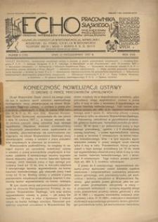 Echo Pracownika Śląskiego, 1937, R. 18, nr 9