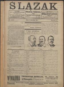 Ślązak, 1914, Nry 1-52
