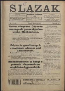 Ślązak, 1915, Nry 1-52