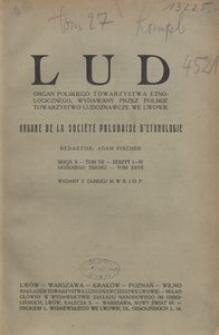 Lud. Seria 2, T. 7 (1928) = T. 27