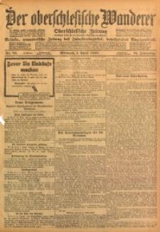 Der Oberschlesische Wanderer, 1908, Jg. 81, Nr. 76