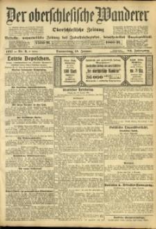 Der Oberschlesische Wanderer, 1911, Jg. 84, Nr. 9
