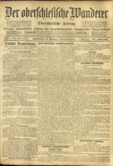 Der Oberschlesische Wanderer, 1911, Jg. 84, Nr. 34